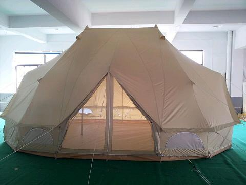 Emperor Bell Tent 4*6m cotton canvas gl&ing tent & Emperor Bell Tent 4*6m cotton canvas glamping tent u2013 Glamping Tents ...